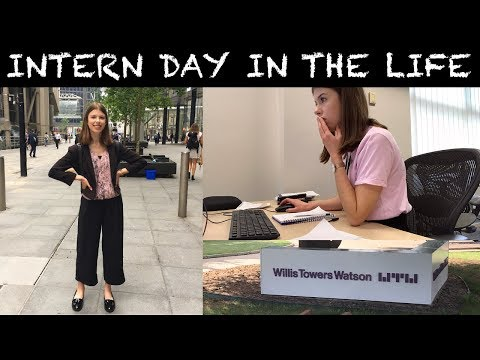DAY IN THE LIFE OF AN ACTUARIAL SUMMER INTERN AT WILLIS TOWERS WATSON