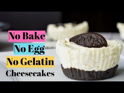 Easy No Bake Oreo Cheesecakes | Full Kitchen