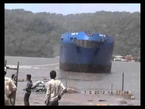 Launching of vessel Hadi 35 by Virgo Marine Shipyards