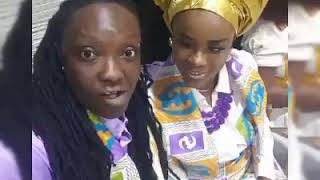 PROUD GHANAIAN LESBIANS IN LONDON DOING THEIR THING.