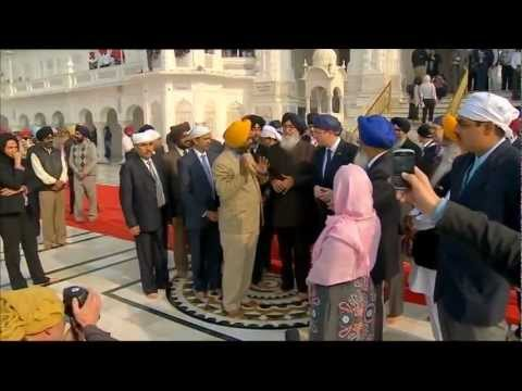 David Cameron Visits Sri Harmandar Sahib Amritsar Panjab | The Golden Temple | Praises British Sikhs