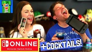 Nintendo Switch Online [DETAILS] + NES Controller Cocktail & Switch Online Cocktail!