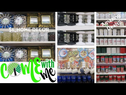 Come with Me to Dollar Tree! Amazing Home Decor Items + more!