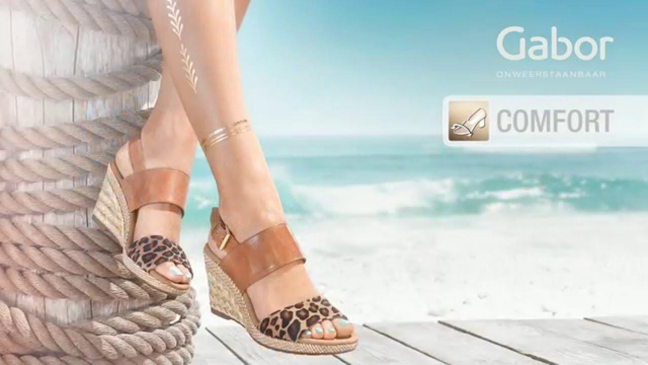 Gabor Shoes AG comfort VoorjaarZomer 2016 dutch