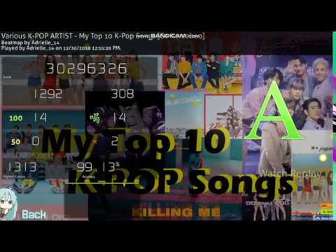 osu! | My Top 10 K-Pop Songs