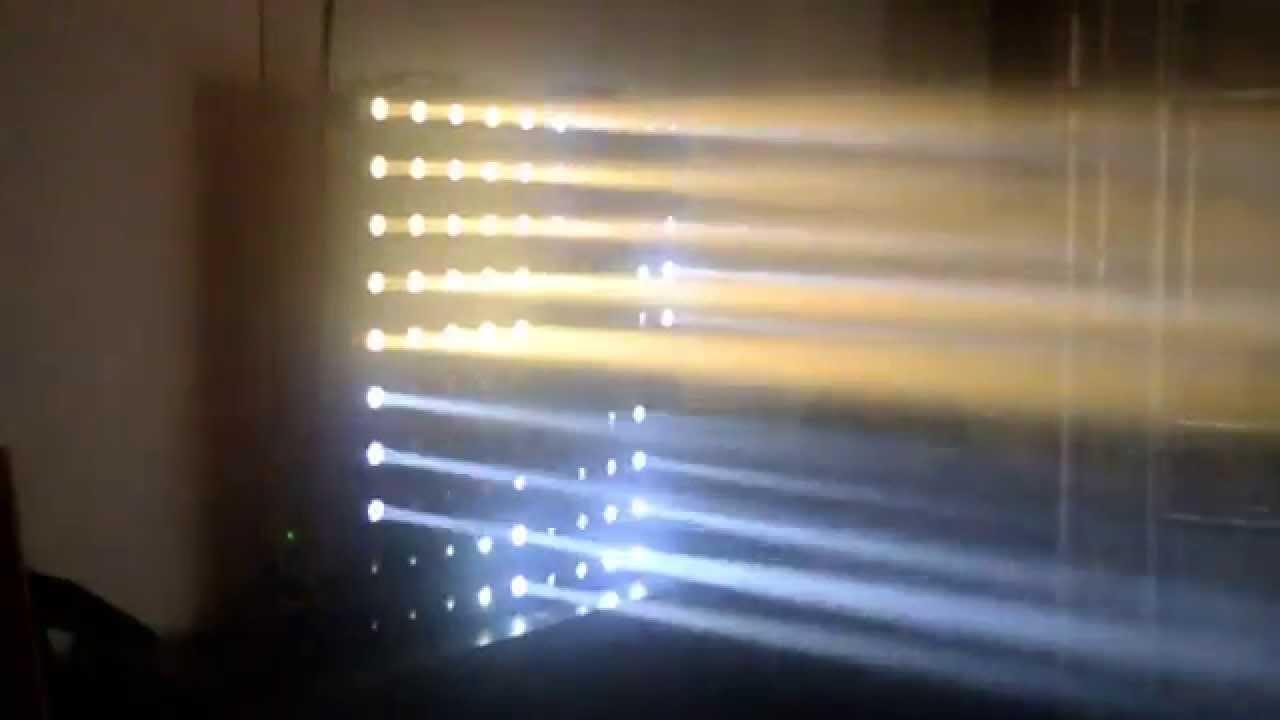 Cool white vs warm white led lights - 25 3w Cree Cool White Warm White Led Matrix Disco Light