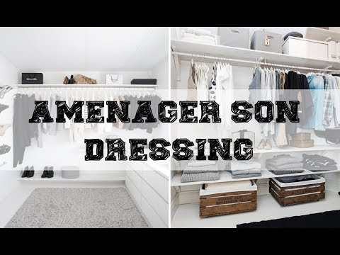 dressing ikea comment optimiser le rangement int rieu doovi. Black Bedroom Furniture Sets. Home Design Ideas