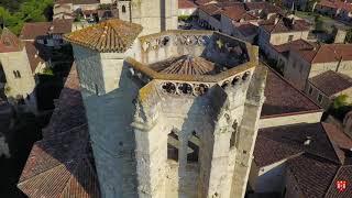 La Romieu, village gersois et sa Collégiale du XIV siècle.
