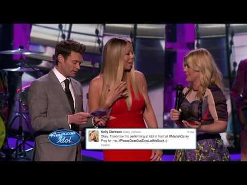 Kelly Clarkson LOVES Mariah Carey (American Idol) Mp3