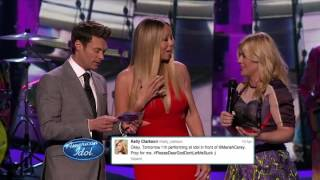Kelly Clarkson LOVES Mariah Carey (American Idol)