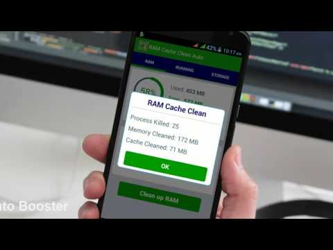 Best RAM Cache Cleaner Auto Booster Application Android