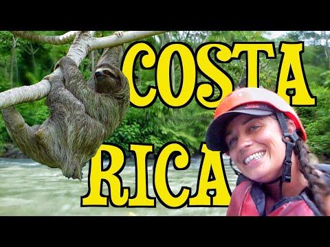 Adventure Tours In Costa Rica | White Water Rafting & Kayaking | Quepos TRAVEL VLOG 63