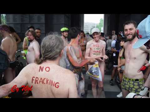 World Naked Bike Ride London (WNBR) 2016 - Highlights