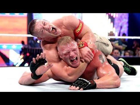 HVK CHANNELWWE Night of Champions 2014 John Cena VS  Brock Lesnar thumbnail