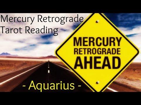 Aquarius ~ Stability returns! ~ Mercury Retrograde Reading