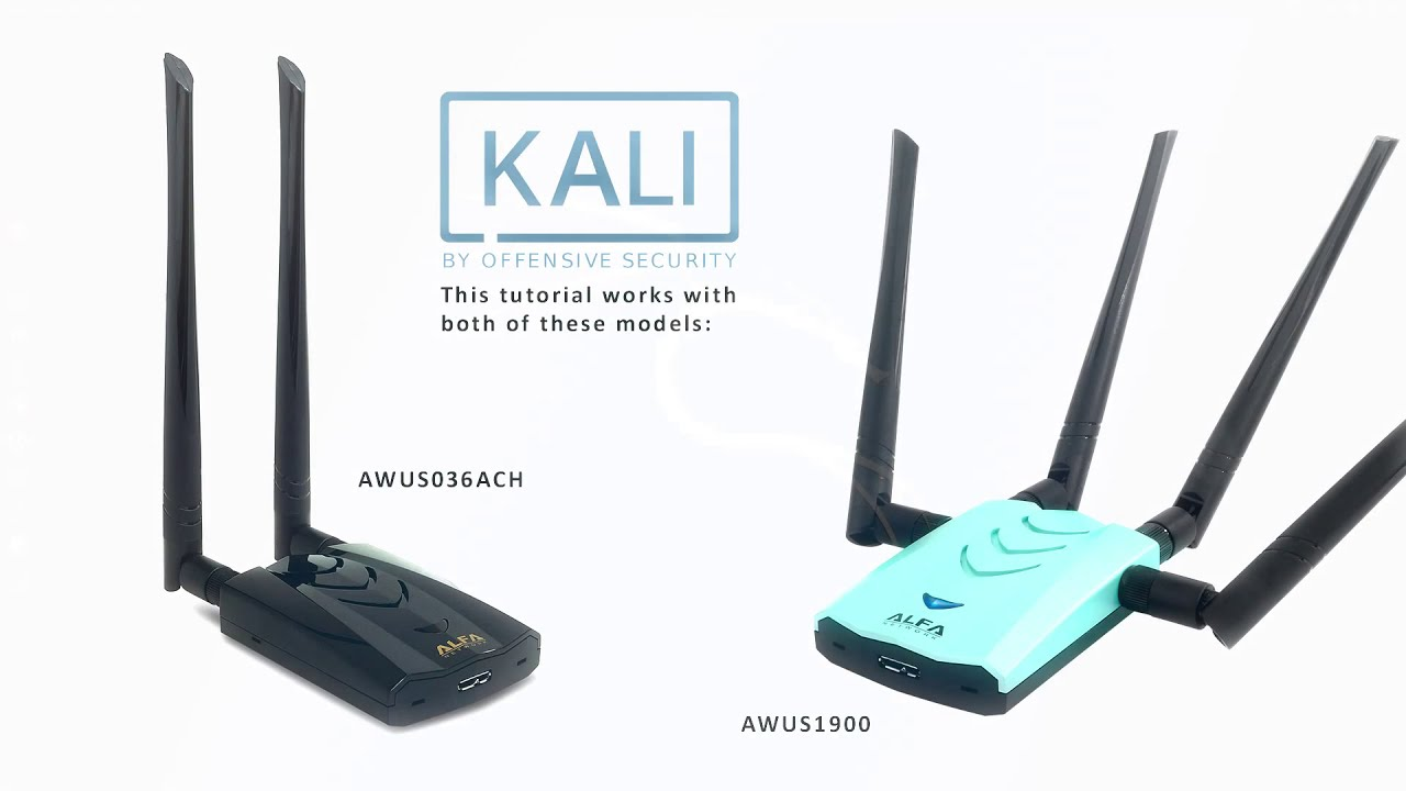How to install Alfa AWUS036ACH, AWUS1900 on Kali Linux 2019 2 with monitor  mode & injection