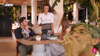 Σερβιτόρα την πέφτει στον Bachelor - τον γειώνει ο Μπάμπης από Εφιάλτη στην Κουζίνα  | Luben TV