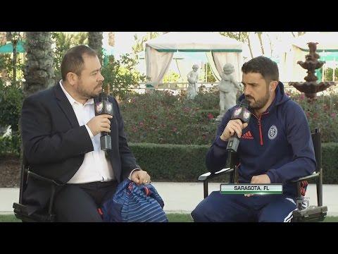 David Villa analiza la pre temporada del New York City FC es busca de identidad