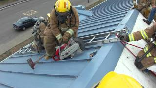 fortuna fire explorer mendes attempts to vent a pitched metal roof