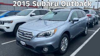 2015 Subaru Outback 2.5i Premium Startup, Walkaround, Features!