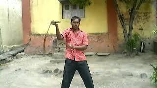 Master prashant ohol. Nunchakus free style.