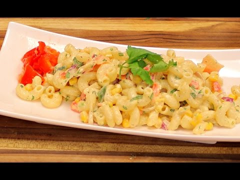 Macaroni salad - pasta salad recipes - healthy recipe channel - quick tasty recipe - cooking channel