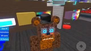 Roblox animatronic world freddy i yaptım Efe'yle birlikte