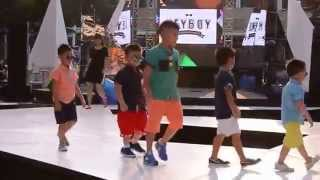 HEYBOY Kids wear Fashion Show at Central Park Mall Jakarta Indonesia