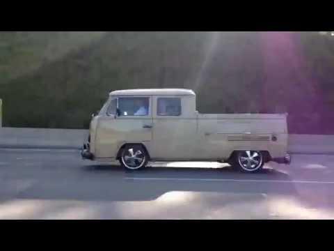 Kombi Cabine Dupla VW Fuchs 17 EMPI T2 Bay Window Double Cab