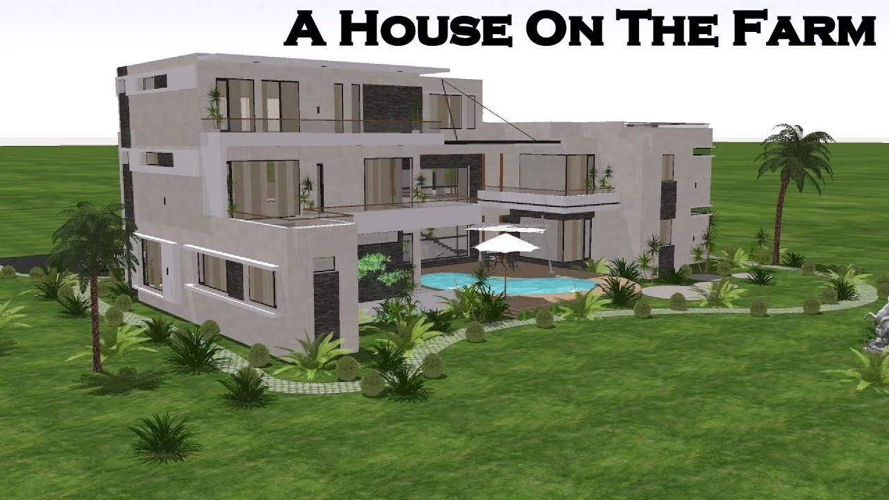 A House on The Farm , 12000 sq.ft Modern Farm House Design By Ar.Harleen Virk