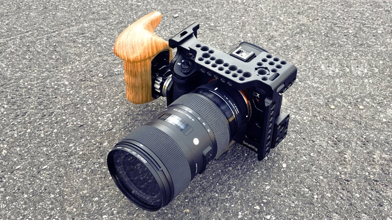 CGPro Lightweight cage for SONY A6300 A6500 camera UK