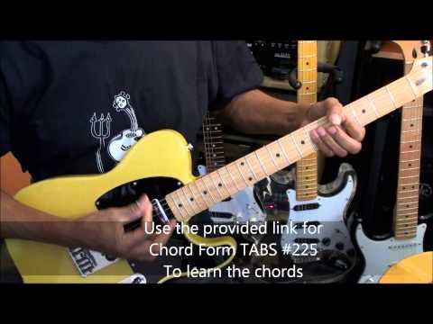 Gorillaz FEEL GOOD INC. Electric Guitar Cover Standard Tuning EricBlackmonMusicHD
