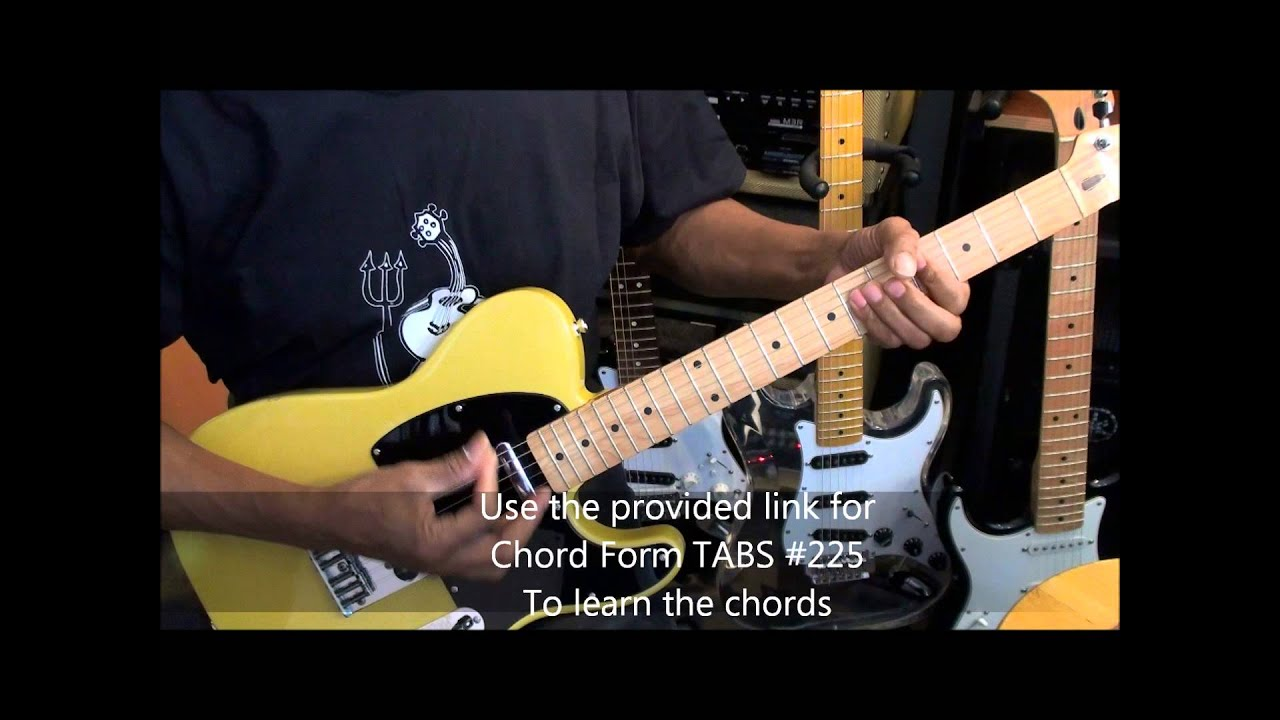 Gorillaz Feel Good Inc Electric Guitar Cover Standard Tuning