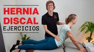 Hernia Discal Mejores Ejercicios (Eliminar el Dolor Lumbar y la Ciática)