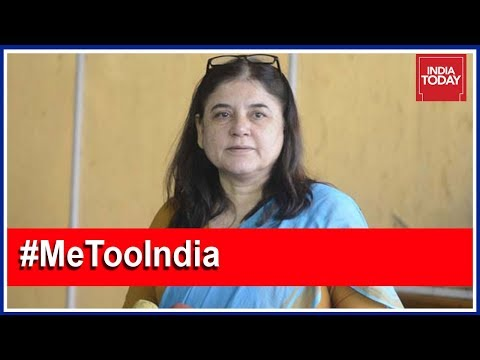 Maneka Gandhi On Centre's Move To Set Up Panel To Examine #MeToo Cases