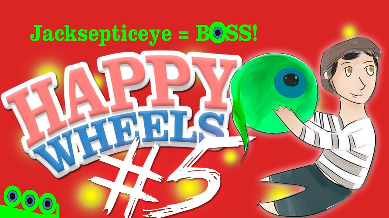 Happy wheels part 5 people made levels for me - Let s play happy wheels ...