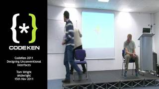Tom Wright - Sensory Substitution Devices - CodeKen 2011