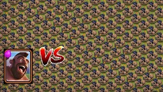 x1000 Hog Riders VS x500 Giant Bombs! | COC Private Server | Unlimited Troops | Clash Of Clans 2017