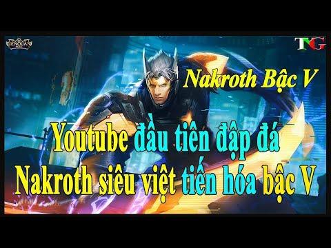 Youtuber đầu tiên sở hữu NAKROTH SIÊU VIỆT Tiến Hóa Bậc V liên quân mobile