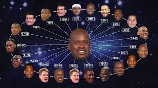 EJs Neato Stat: Six Degrees of Shaq | NBA on TNT