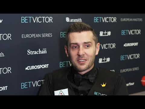 Selby Battles Into Quarter-Finals In Milton Keynes | BetVictor European Masters