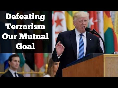 Donald Trump Speech at US-Arab Islamic Summit in Riyadh | Express News