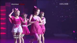 110722【HD】Secret - Madonna & Starlight Moonlight | MUSIC BANK in Tokyo (K-Pop Festival) |