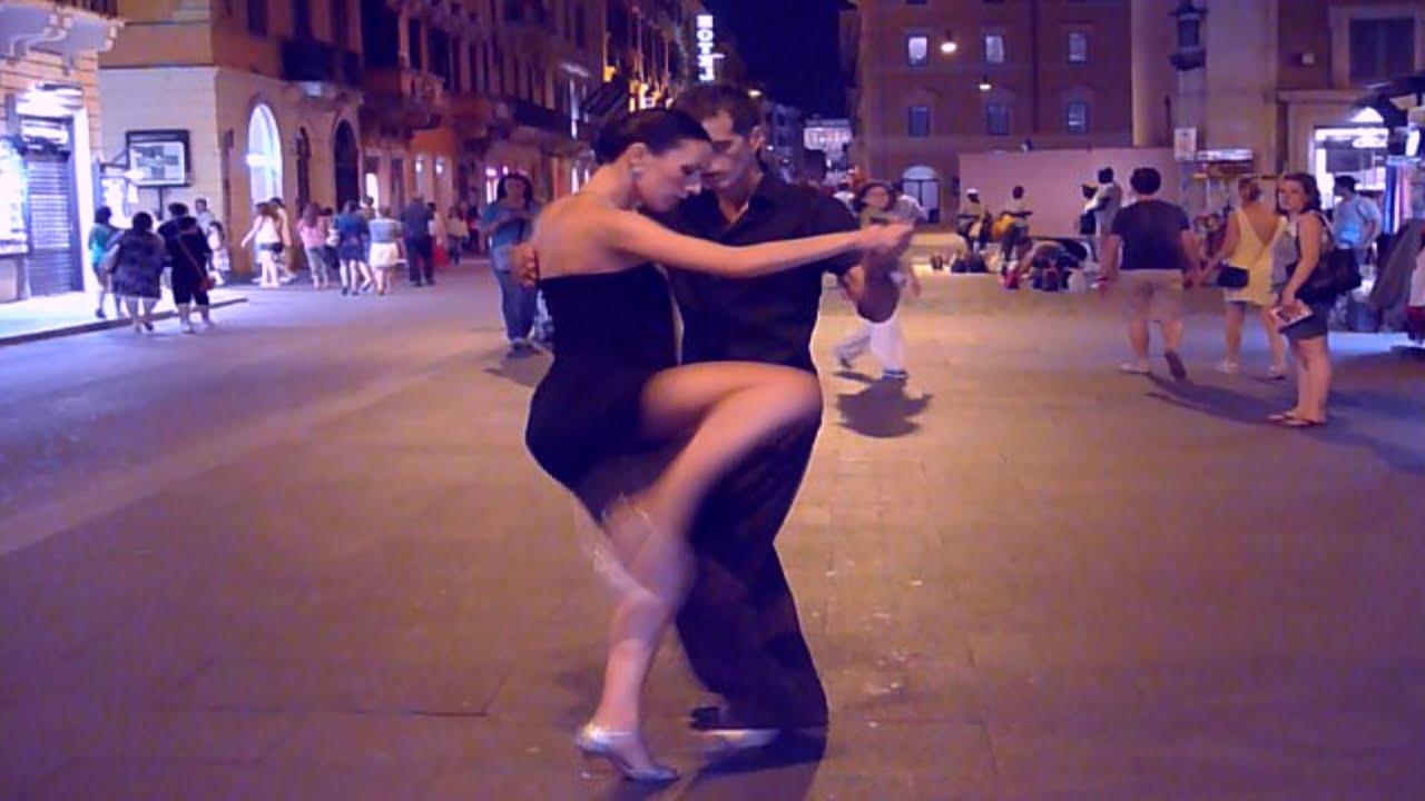 Fantastic Argentine Tango Street Dance (2) & Sentimientos