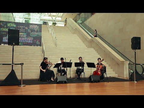 Merry Christmas, Mr Lawrence - Ryuichi Sakamoto - Arpeggione String Quartet (Singapore)