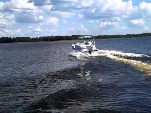 1996 Hurricane 19 Fun Deck 85 Yamaha YouTube