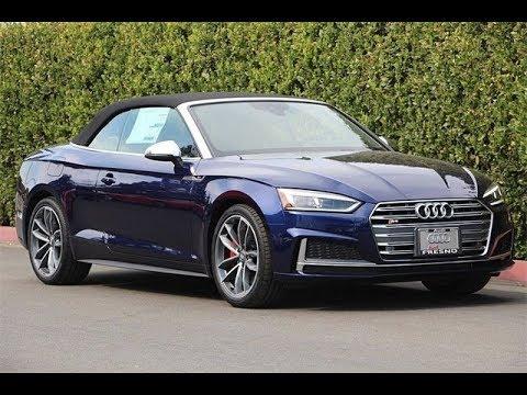NEW 2019 Audi S5 2D Convertible 3.0L TFSI 8-Speed ...