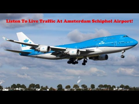 [Live ATC] Amsterdam EHAM Approach/Departure LIVE