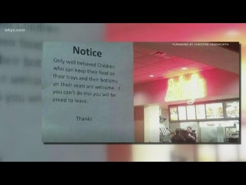 CRob - Arby's Goes Viral Demanding Only Well-Behaved Children Are Allowed In