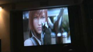 Final Fantasy XIII Intro - Optoma Projector